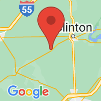 Map of Kenney IL US