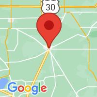 Map of Kenton OH US