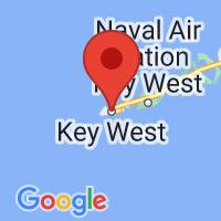 Map of Key West, FL
