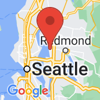 Map of Kirkland, WA US