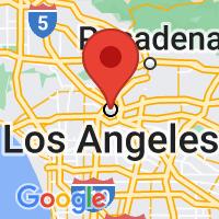 Map of LOS ANGELES CA US