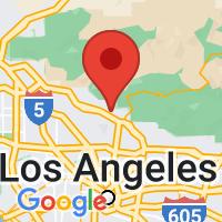 Map of La Crescenta CA US