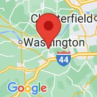 Map of Labadie, MO