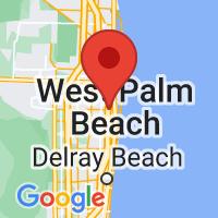 Map of Lake Worth FL US