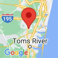 Map of Lakewood NJ US