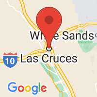 Map of Las Cruces, NM US