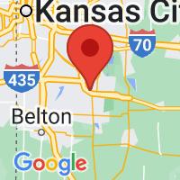 Map of Lees Summit, MO US