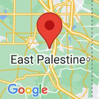 Map of Leetonia, OH