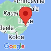 Map of Lihue, HI