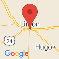 Map of Limon, CO US