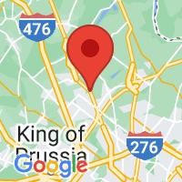 Map of Line Lexington, PA US
