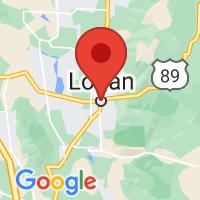 Map of Logan, UT