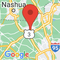 Map of Lowell MA US
