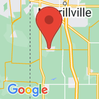 Map of Lowell, IN US