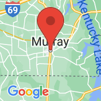 Map of MURRAY KY US