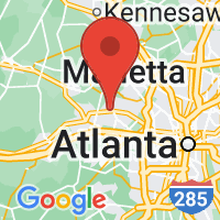 Map of Mableton GA US