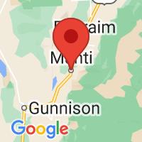 Map of Manti, UT