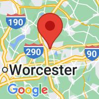 Map of Marlborough, MA