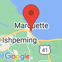 Map of Marquette, MI