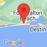 Map of Mary Esther FL US