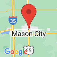 Map of Mason City IA US