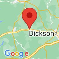 Map of Mc Ewen, TN