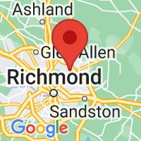Map of Mechanicsville, VA