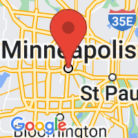 Map of Minneapolis MN US
