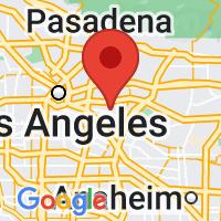 Map of Montebello, CA US