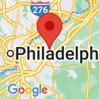 Map of Moorestown, NJ