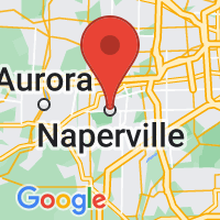 Map of Naperville, IL US