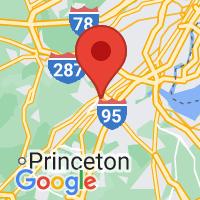 Map of New Brunswick NJ US