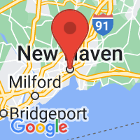 Map of New Haven, CT US