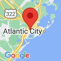 Map of Northfield NJ US