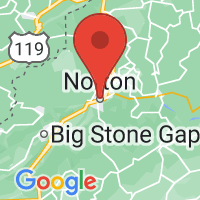 Map of Norton, VA US