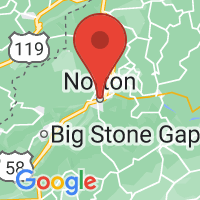 Map of Norton, VA