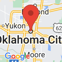 Map of Okc OK US