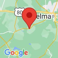 Map of Orrville, AL