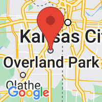 Map of Overland Park KS US