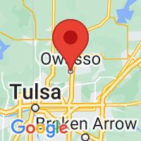 Map of Owasso OK US