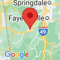 Map of PRAIRIE GROVE AR US