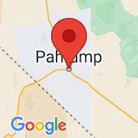Map of Pahrump, NV