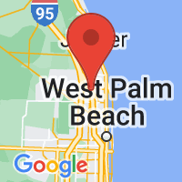 Map of Palm Bch Gdns FL US