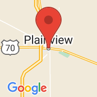 Map of Plainview, TX US