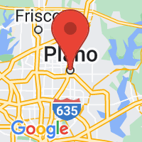 Map of Plano TX US