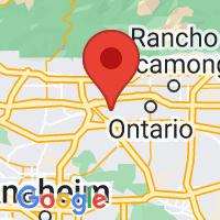 Map of Pomona, CA US