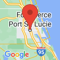 Map of Port Saint Lucie, FL
