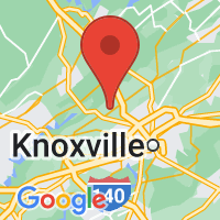Map of Powell, TN US