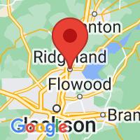 Map of RIDGELAND MS US