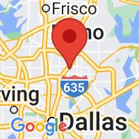 Map of Richardson TX US